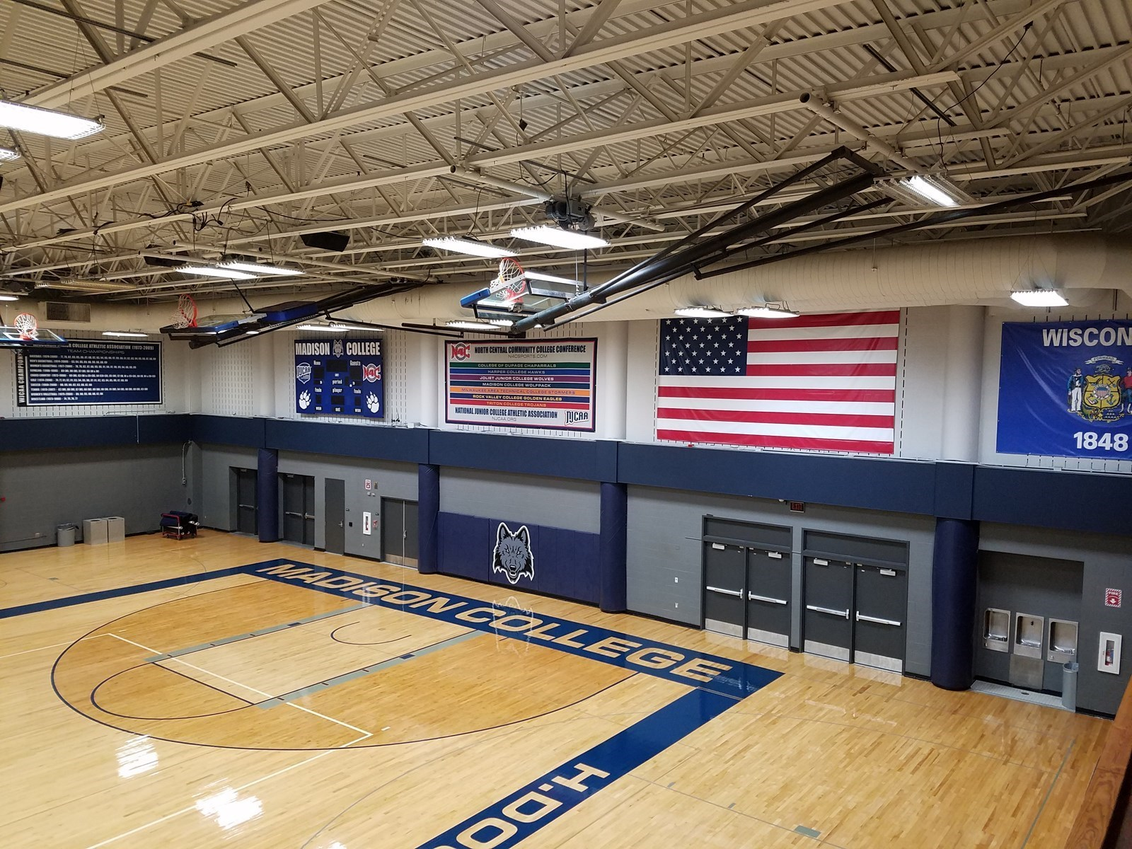 H Douglas Redsten Gymnasium Facilities Madison College Athletics